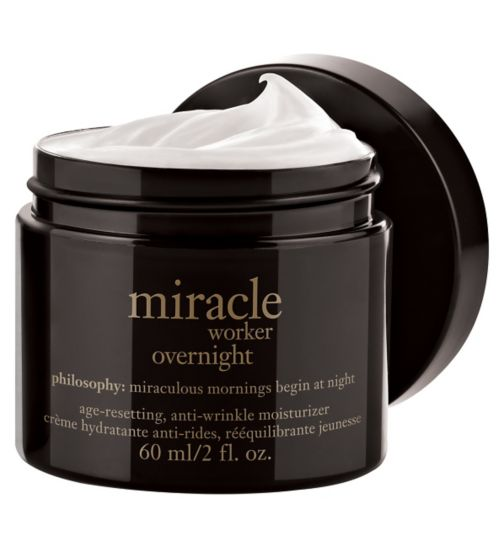 Philosophy miracle worker overnight age-resetting, anti-wrinkle moisturiser 60ml