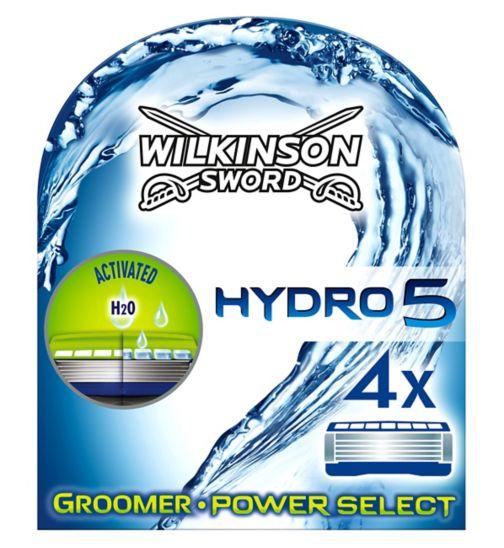 Wilkinson Sword Hydro 5 Groomer Blades 4 Cartridges