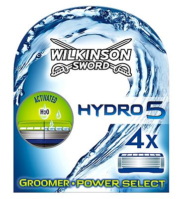 Wilkinson Sword Hydro 5 Groomer Blades 4 Cartridges