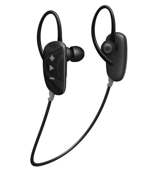 Jam Fusion In-Ear Wireless Earbud Headphones- Black