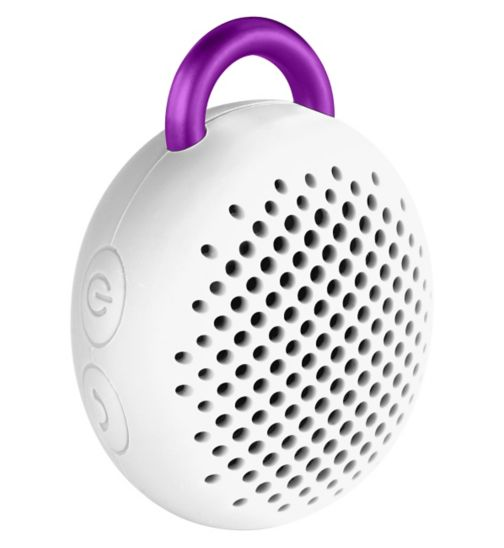 Divoom Bluetune Bean Portable Bluetooth Speaker-White