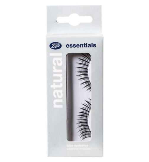 Boots essentials natural false eyelashes