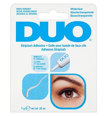 DUO Striplash Adhesive white clear 7g