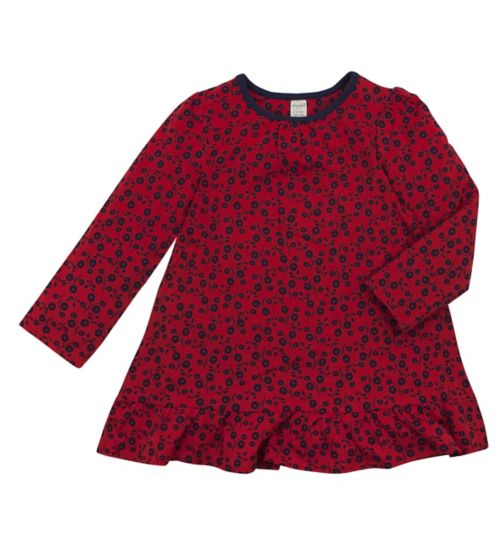 Girls Floral Print Tunic - Mini Club