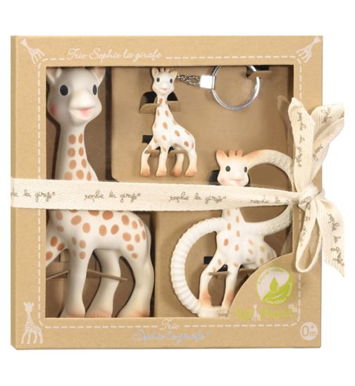Sophie the Giraffe So'Pure Trio Gift Set