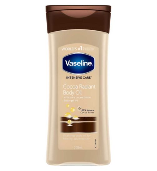 Vaseline Intensive Care Cocoa Gel Oil 200ml