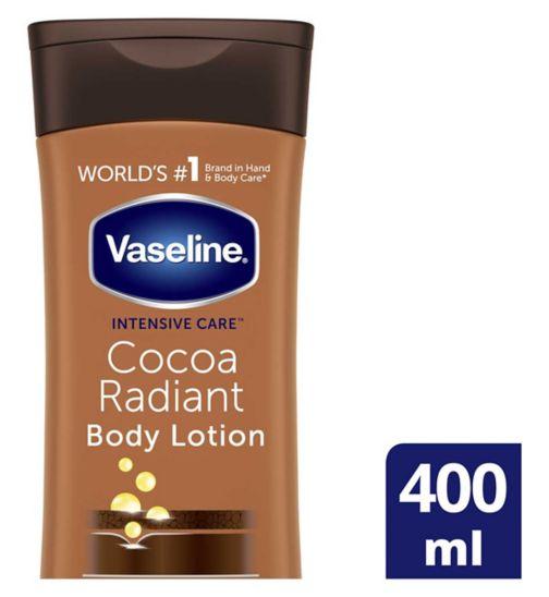 Vaseline Intensive Care Cocoa Lotion 400ml