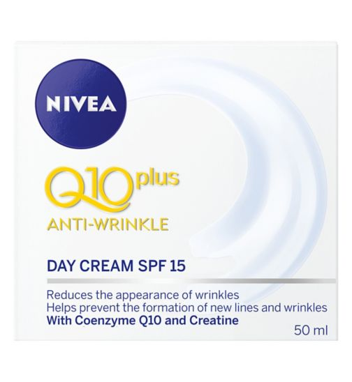 Nivea Daily Essentials Q10 Plus Anti-Wrinkle Day Cream SPF15 50ml