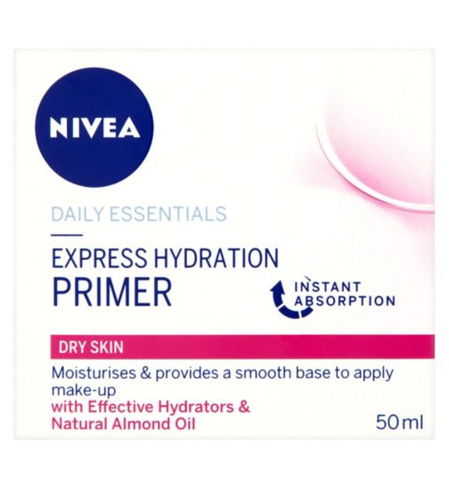 NIVEA Daily Essentials Express Hydration Primer Dry & Sensitive Skin 50ml