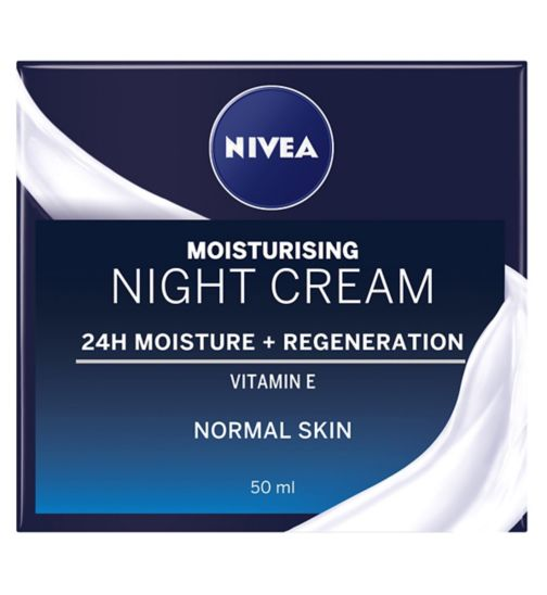 NIVEA Daily Essentials Regenerating Night Cream For Normal and Combination Skin 50ml