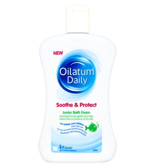 Oilatum Daily Junior Bath Foam for Dry Skin 300ml