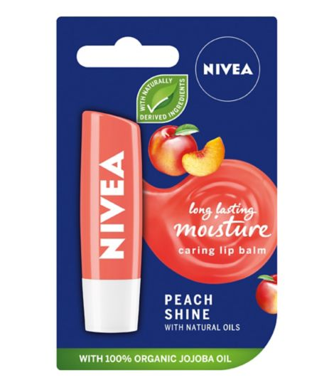 NIVEA Lip Fruity Shine Peach