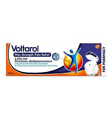 Voltarol 12 Hour Emulgel P 2.32% Gel - 100g