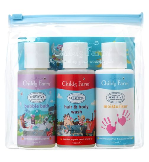 Childs Farm Top-To-Toesie cleaning kit 3x 100ml