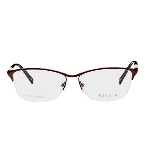 Escada Women's Glasses - Brown VES850