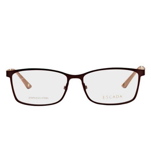 Escada Women's Glasses - Brown VES847