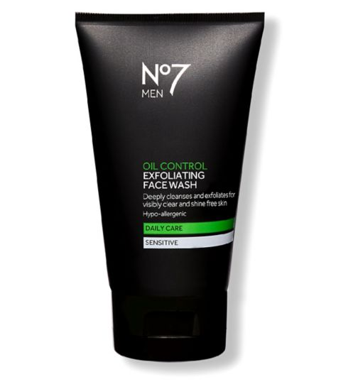 No7 Men Oil Control Face Wash 150ml
