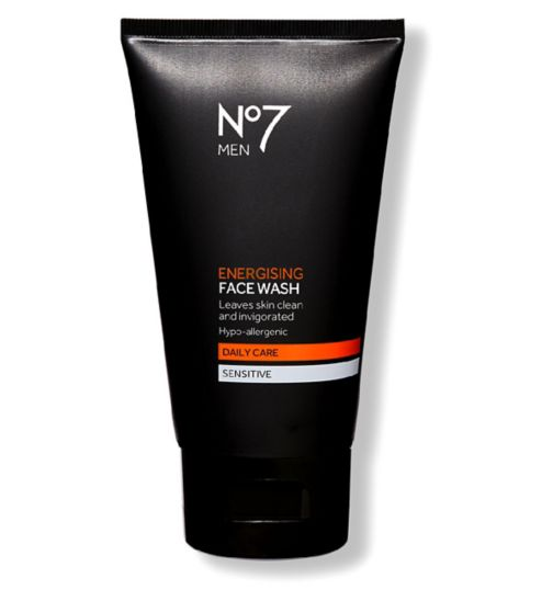 No7 Men Energising Face Wash 150ml