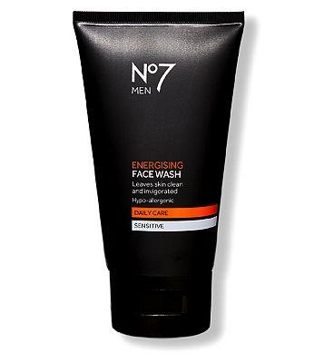 No7 Men Energising Face Wash 150ml