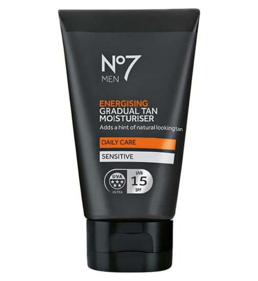 No7 Men Energising Gradual Tan Moisturiser 50ml