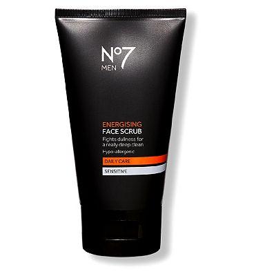 No7 Men Energising Face Scrub 150ml