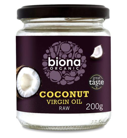 Biona Organic Coconut Virgin Oil Raw - 200g