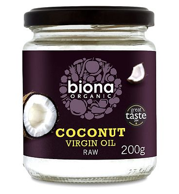 Biona Organic Coconut Virgin Oil Raw 200g