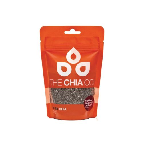 The Chia Co Chia Seed Black 150g Pouch