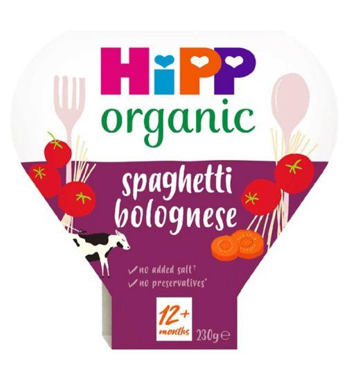 HiPP Organic Classic Spaghetti Bolognese 1-3 Years 230g