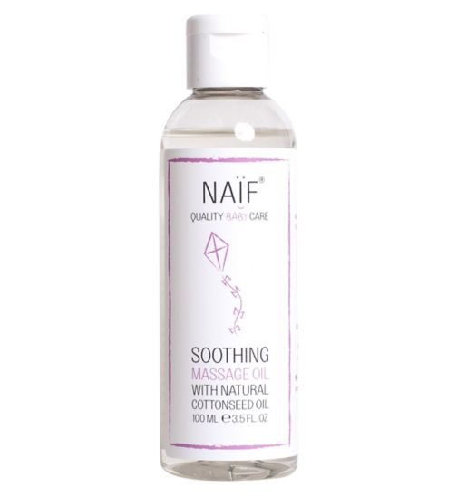 NAIF Soothing Baby Oil 100ml