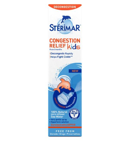 Stérimar Kids Congestion Relief  50ml