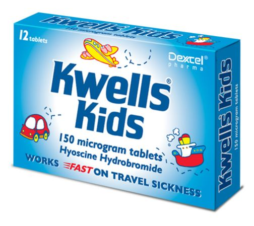 Kwells Kids 150 microgram tablets - 12 tablets
