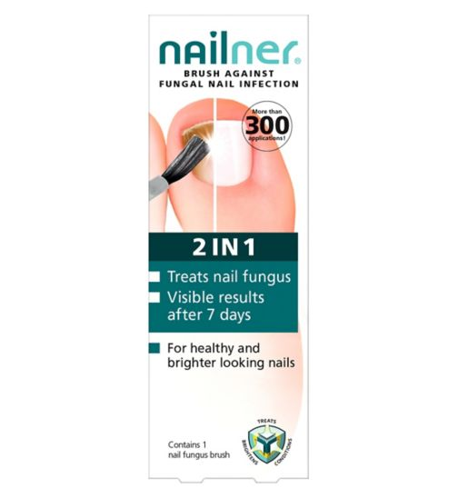 Nailner Fungal Nail Infection 2 in 1 Brush - 5ml