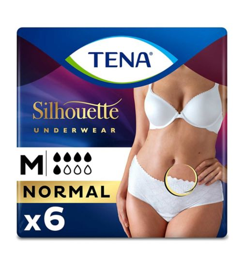 TENA Lady Pants Discreet Medium - 6 Pants