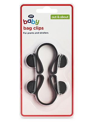 Boots Baby Bag Clips