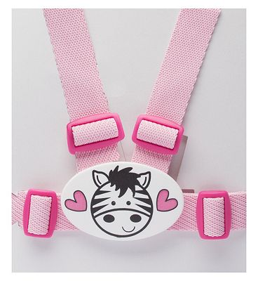 Boots Baby Walking Reins and Harness  Pink