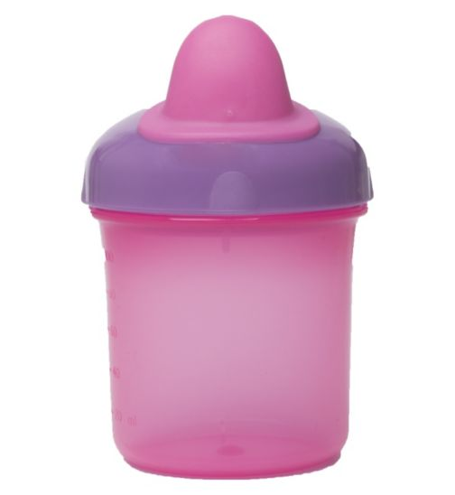 Boots Baby Non Spill First Cup - Pink