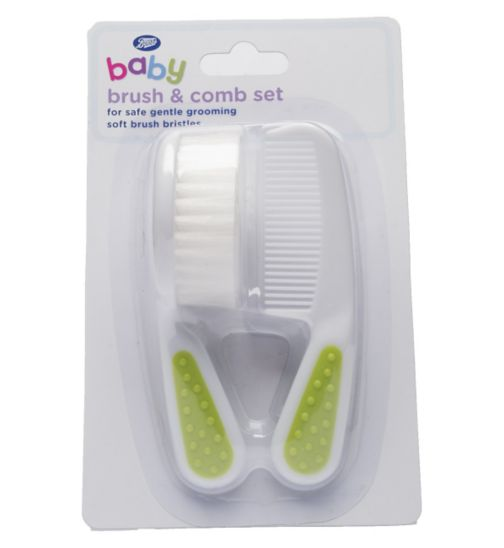 Boots Baby Brush and Comb Set