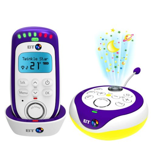 BT 350 Lightshow Digital Baby Monitor