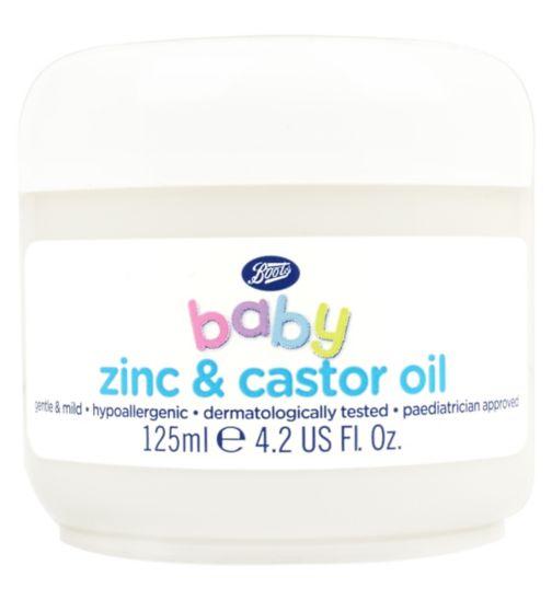Boots Baby Zinc & Castor Oil 125ml