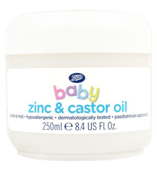 Boots Baby Zinc & Castor Oil 250ml