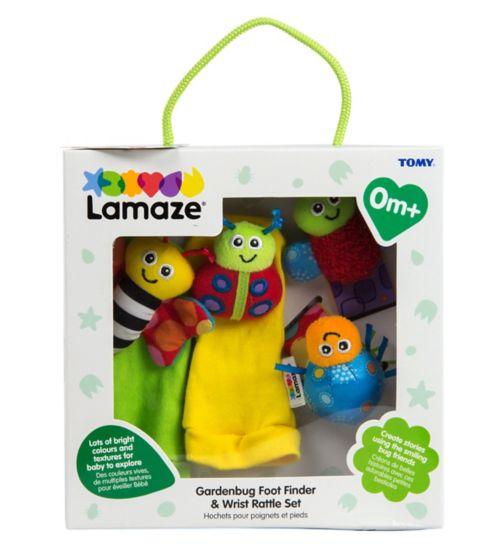 Lamaze Garden Bug Wrist Rattle & Footfinders Gift Set