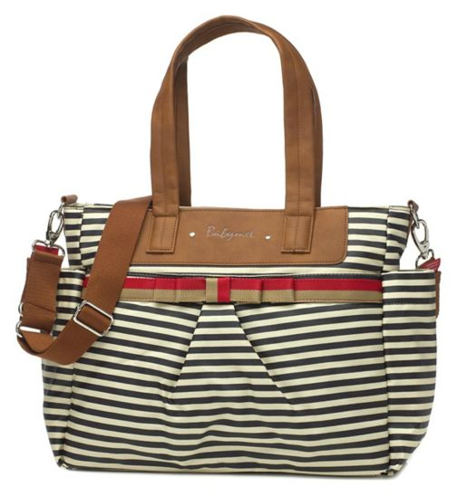 Babymel Cara Change Bag navy stripe