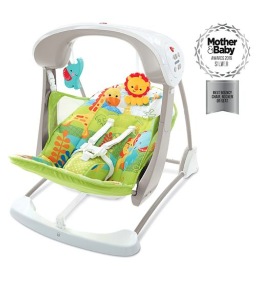 Fisher Price Rainforest Friends Take Along Swing