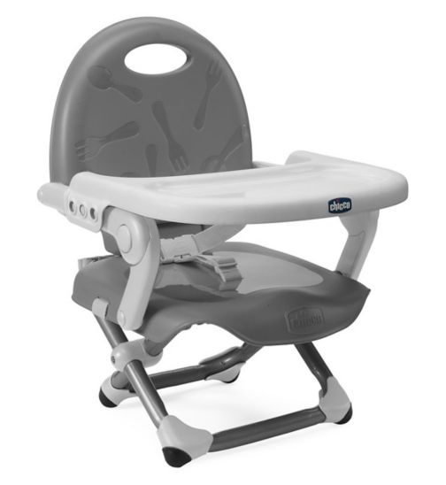 Chicco Pocket Snack Booster Chair - Silver