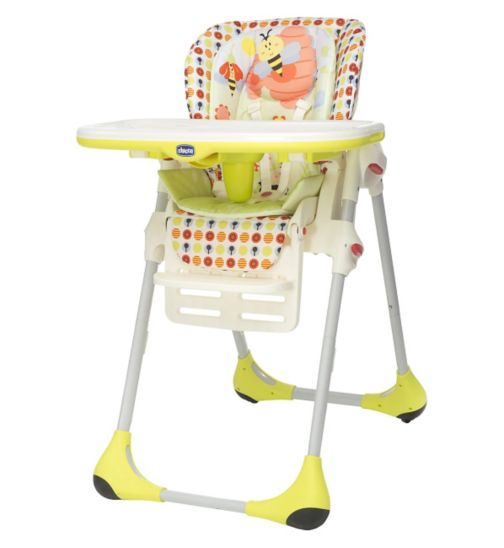 Chicco Polly 2 in 1 Highchair - Sunny