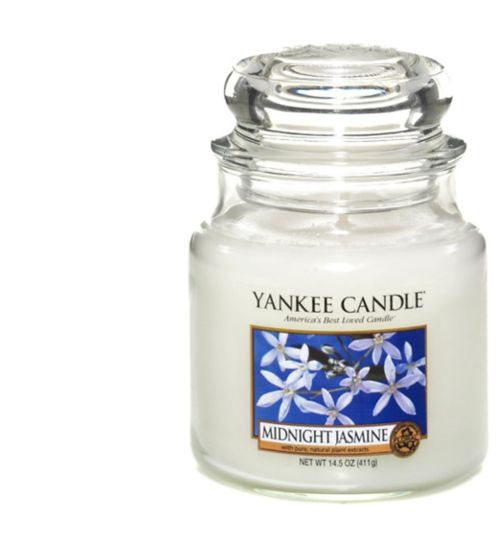 Yankee Candle Classic medium jar candle - Midnight Jasmine