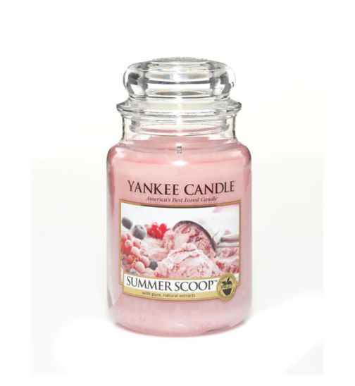 Yankee Candle Classic large jar candle -  Summer Scoop