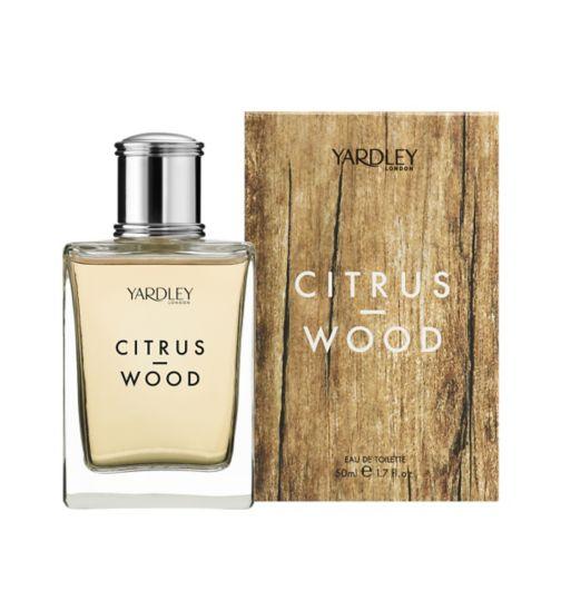 Yardley Citrus Wood Eau de Toilette 50ml
