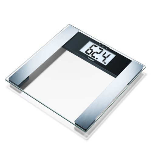 Beurer BF480 USB Diagnostic Glass Bathroom Scales